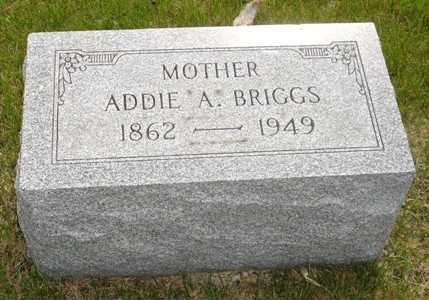 BRIGGS, ADDIE A. - Clinton County, Iowa | ADDIE A. BRIGGS