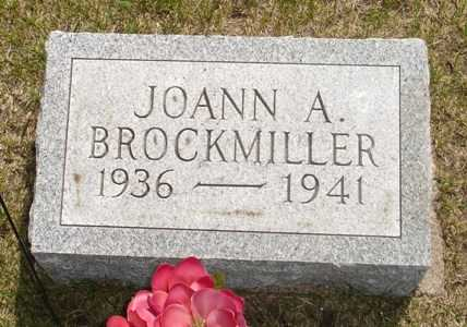 BROCKMILLER, JOANN A. - Clinton County, Iowa | JOANN A. BROCKMILLER