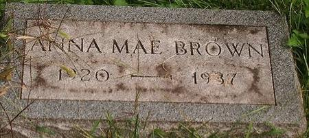 BROWN, ANNA MAE - Clinton County, Iowa | ANNA MAE BROWN