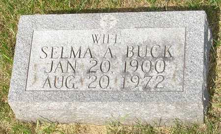 BUCK, SELMA - Clinton County, Iowa | SELMA BUCK