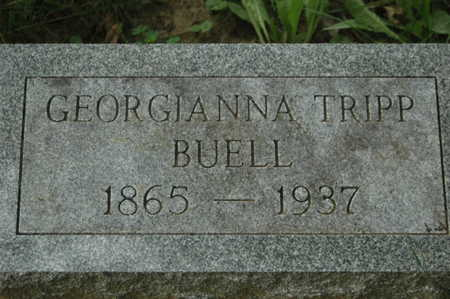 TRIPP BUELL, GEORGIANA - Clinton County, Iowa | GEORGIANA TRIPP BUELL