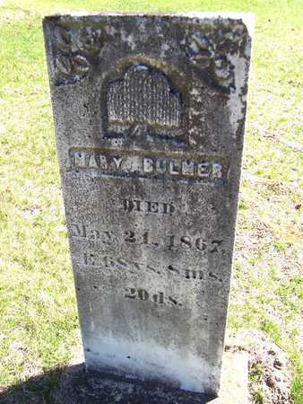 BULMER, MARY - Clinton County, Iowa | MARY BULMER