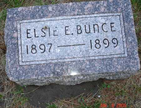 BUNCE, ELSIE E. - Clinton County, Iowa | ELSIE E. BUNCE