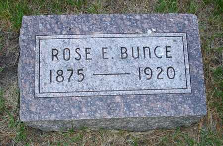 BUNCE, ROSE E. - Clinton County, Iowa | ROSE E. BUNCE