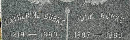 BURKE, CATHERINE - Clinton County, Iowa   CATHERINE BURKE