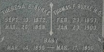 BURKE, THERESA E. - Clinton County, Iowa | THERESA E. BURKE