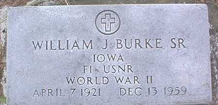 BURKE, WILLIAM J., SR. - Clinton County, Iowa | WILLIAM J., SR. BURKE