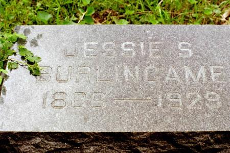 BURLINGAME, JESSIE A. - Clinton County, Iowa | JESSIE A. BURLINGAME
