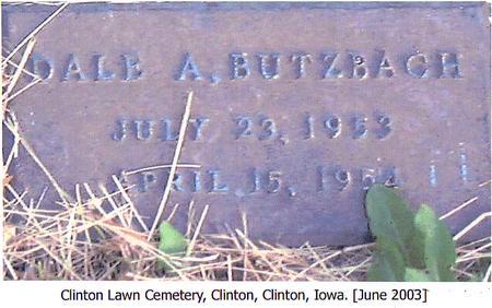 BUTZBACH, DALE A. - Clinton County, Iowa | DALE A. BUTZBACH