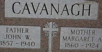CAVANAGH, MARGARET A. - Clinton County, Iowa | MARGARET A. CAVANAGH
