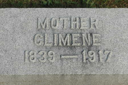 CHILDS, CLIMENE - Clinton County, Iowa | CLIMENE CHILDS