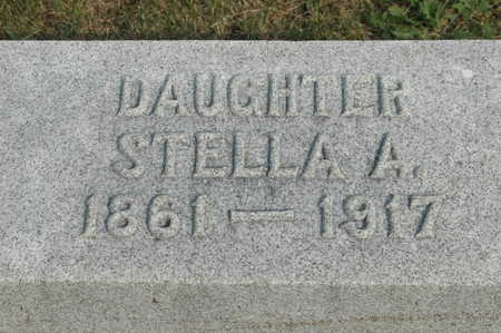 CHILDS, STELLA A - Clinton County, Iowa | STELLA A CHILDS