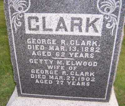 CLARK, GEORGE R. - Clinton County, Iowa | GEORGE R. CLARK