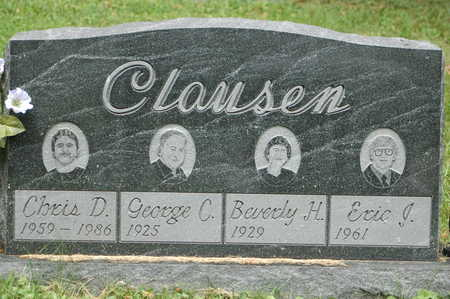 CLAUSEN, BEVERLY H. - Clinton County, Iowa | BEVERLY H. CLAUSEN