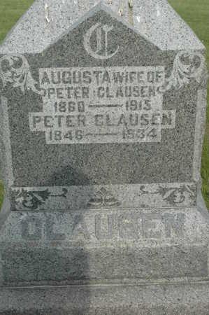 CLAUSEN, PETER - Clinton County, Iowa | PETER CLAUSEN
