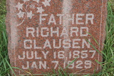 CLAUSEN, RICHARD - Clinton County, Iowa | RICHARD CLAUSEN