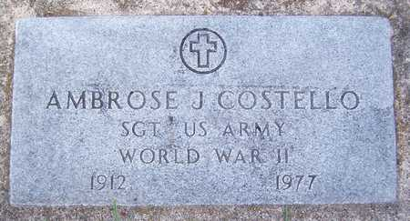 COSTELLO, AMBROSE J. - Clinton County, Iowa | AMBROSE J. COSTELLO