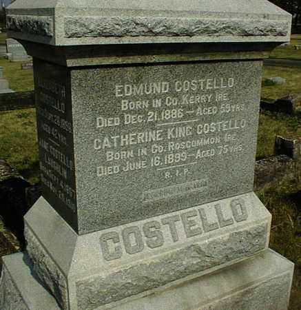 COSTELLO, EDMUND - Clinton County, Iowa | EDMUND COSTELLO