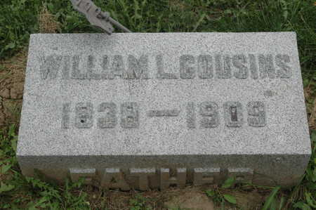 COUSINS, WILLIAM L. - Clinton County, Iowa | WILLIAM L. COUSINS