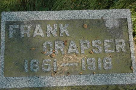 CRAPSER, FRANK - Clinton County, Iowa | FRANK CRAPSER