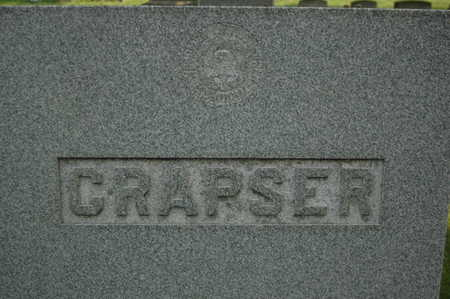 CRAPSER, FAMILY MONUMENT - Clinton County, Iowa | FAMILY MONUMENT CRAPSER