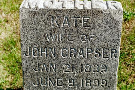 CRAPSER, KATE - Clinton County, Iowa | KATE CRAPSER
