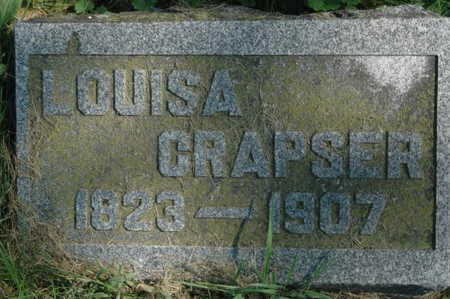 CRAPSER, LOUISA - Clinton County, Iowa | LOUISA CRAPSER