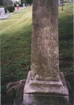 CRAWSHAW, JAMES - Clinton County, Iowa   JAMES CRAWSHAW