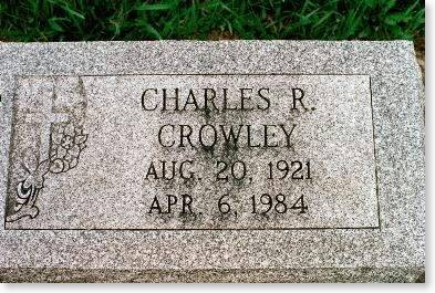 CROWLEY, CHARLES R. - Clinton County, Iowa | CHARLES R. CROWLEY