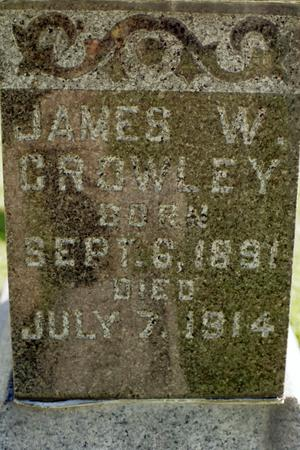 CROWLEY, JAMES W. - Clinton County, Iowa | JAMES W. CROWLEY