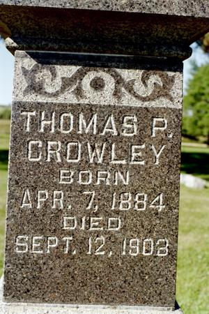 CROWLEY, THOMAS P. - Clinton County, Iowa | THOMAS P. CROWLEY