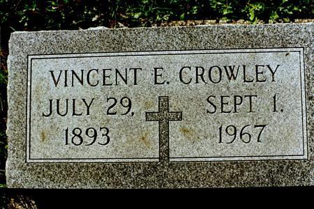 CROWLEY, VINCENT E. - Clinton County, Iowa | VINCENT E. CROWLEY
