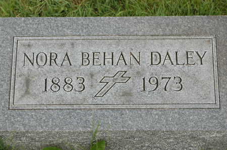 BEHAN DALEY, NORA - Clinton County, Iowa | NORA BEHAN DALEY