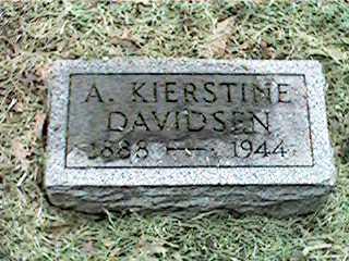 DAVIDSEN, A. KIERSTINE - Clinton County, Iowa | A. KIERSTINE DAVIDSEN