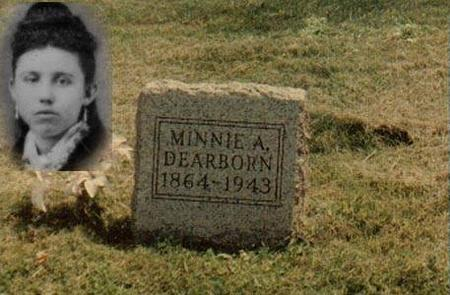 DEARBORN, MINNIE A. - Clinton County, Iowa | MINNIE A. DEARBORN
