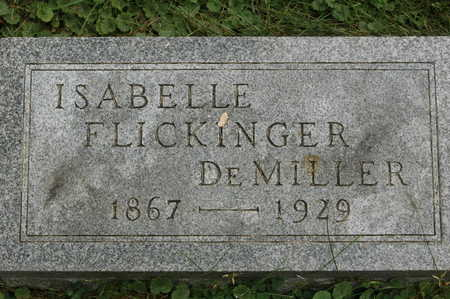 FLICKINGER DEMILLER, ISABELLE - Clinton County, Iowa | ISABELLE FLICKINGER DEMILLER