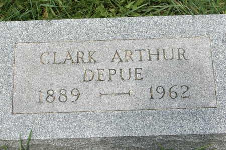 DEPUE, CLARK ARTHUR - Clinton County, Iowa | CLARK ARTHUR DEPUE
