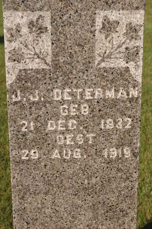 DETERMAN, J.J. - Clinton County, Iowa | J.J. DETERMAN