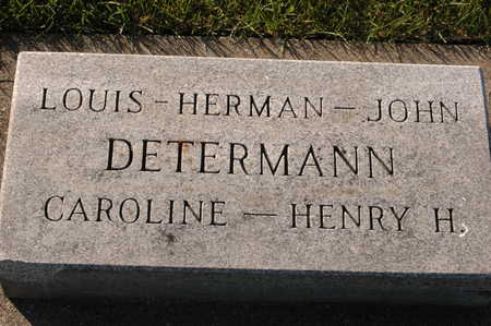 DETERMANN, HERMAN - Clinton County, Iowa | HERMAN DETERMANN
