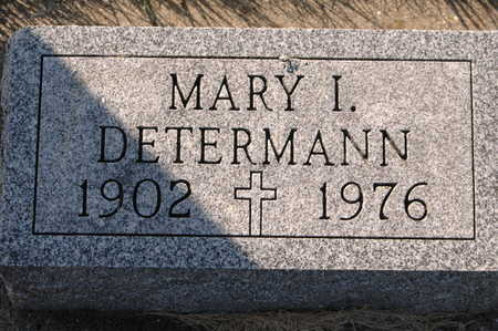 DETERMANN, MARY I. - Clinton County, Iowa | MARY I. DETERMANN