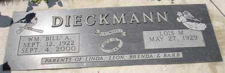 DIECKMANN, LOIS M. - Clinton County, Iowa | LOIS M. DIECKMANN
