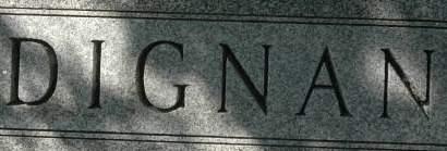 DIGNAN, FAMILY MONUMENT - Clinton County, Iowa   FAMILY MONUMENT DIGNAN
