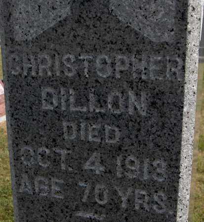 DILLON, CHRISTOPHER - Clinton County, Iowa | CHRISTOPHER DILLON