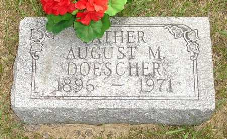 DOESCHER, AUGUST M. - Clinton County, Iowa | AUGUST M. DOESCHER