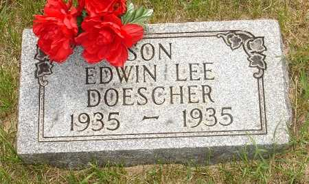 DOESCHER, EDWIN LEE - Clinton County, Iowa | EDWIN LEE DOESCHER