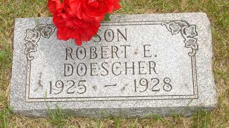 DOESCHER, ROBERT E. - Clinton County, Iowa | ROBERT E. DOESCHER