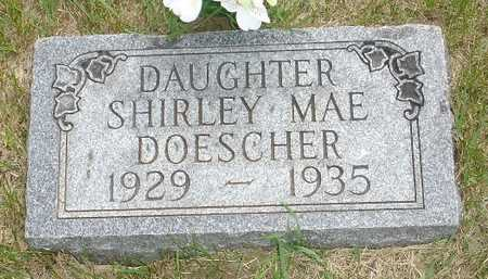 DOESCHER, SHIRLEY MAE - Clinton County, Iowa | SHIRLEY MAE DOESCHER