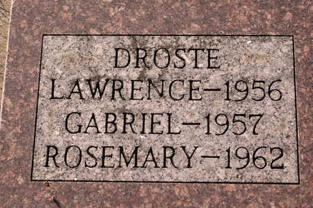 DROSTE, ROSEMARY - Clinton County, Iowa | ROSEMARY DROSTE