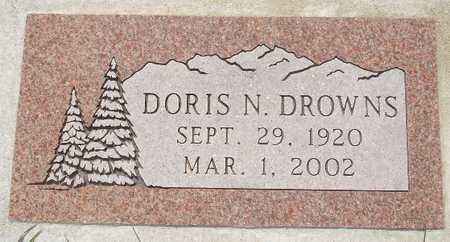 DROWNS, DORIS N. - Clinton County, Iowa | DORIS N. DROWNS