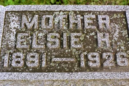 DUHR, ELSIE H. - Clinton County, Iowa | ELSIE H. DUHR